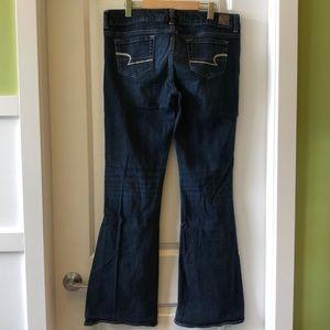EUC AE American Eagle Artist stretch jeans 14 Long